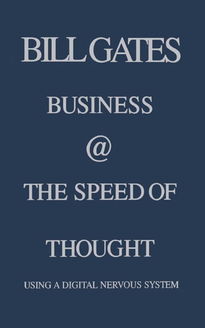 کسب و کار با سرعت تفکر - بیل گیتس