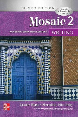 کتاب زبان انگلیسی موزایک رایتینگ 2