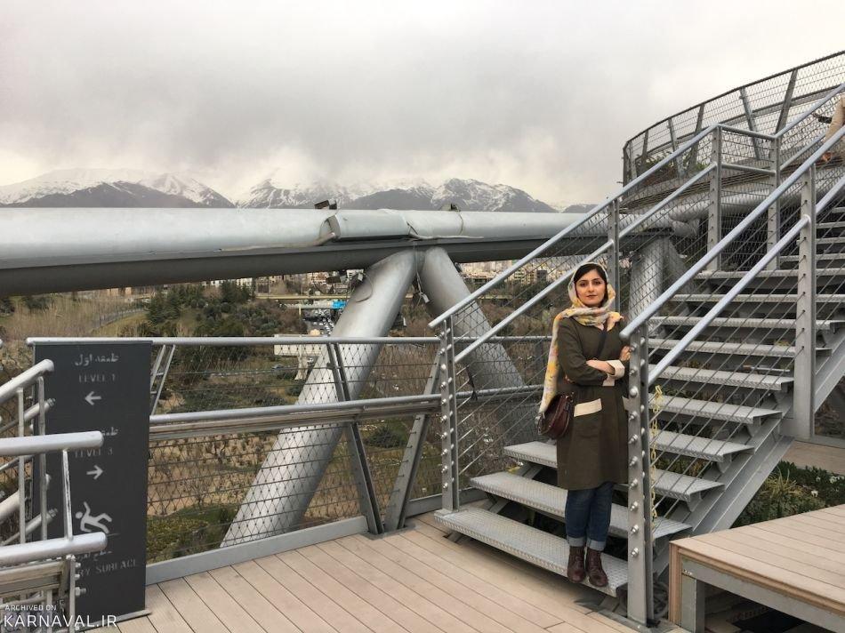 معرفی پل طبیعت تهران