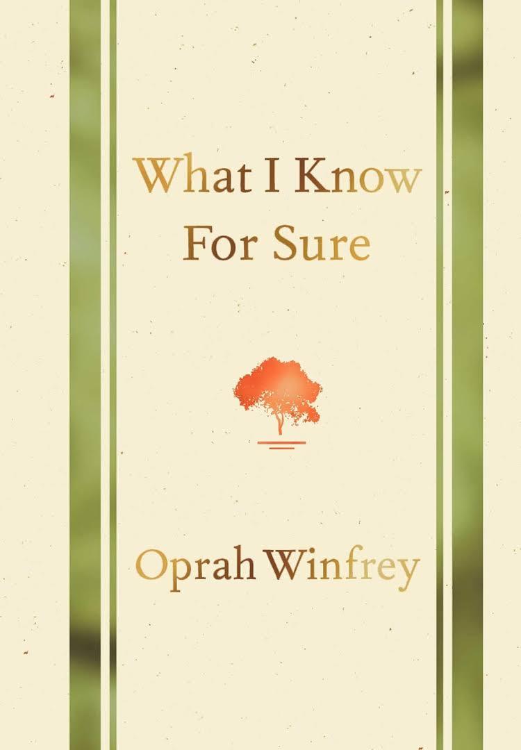 چیزی که مطمئنا می دانم - اوپرا وینفری