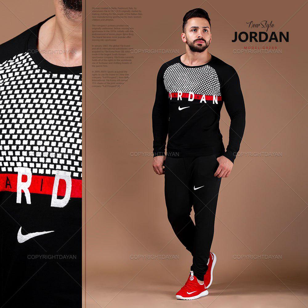 ست تیشرت و شلوار مردانه Jordan مدل G9289