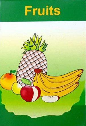 فلش کارت زبان انگلیسی میوه
