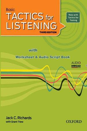 تاکتیکس فور لیسینیگ Basic Tactics for Listening
