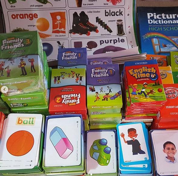 برای خرید فلش کارت های زبان انگلیسی کودکان و خردسالان روی عکس کلیک کنید