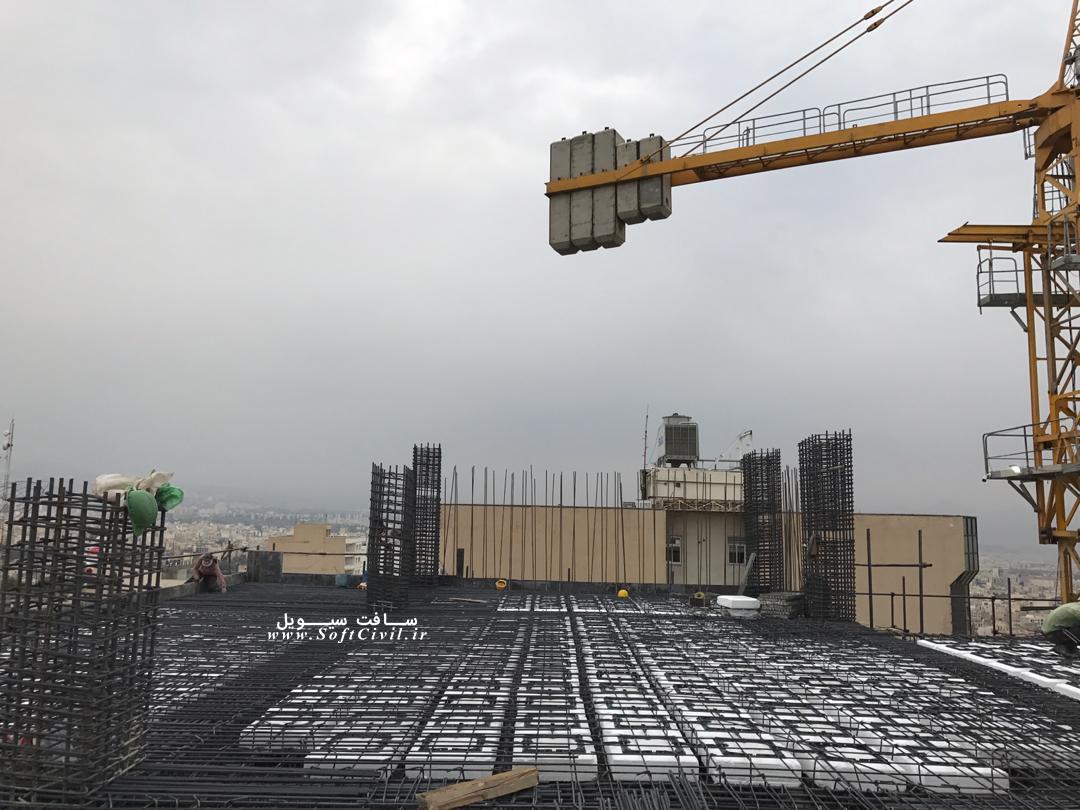 تصاویری از اجرای سقف با قالب کانتراس (یوبوت)
