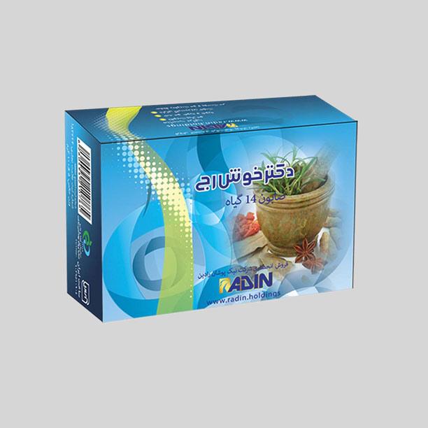 خرید صابون چهارده گیاه ویژه موی دکتر خوش رج