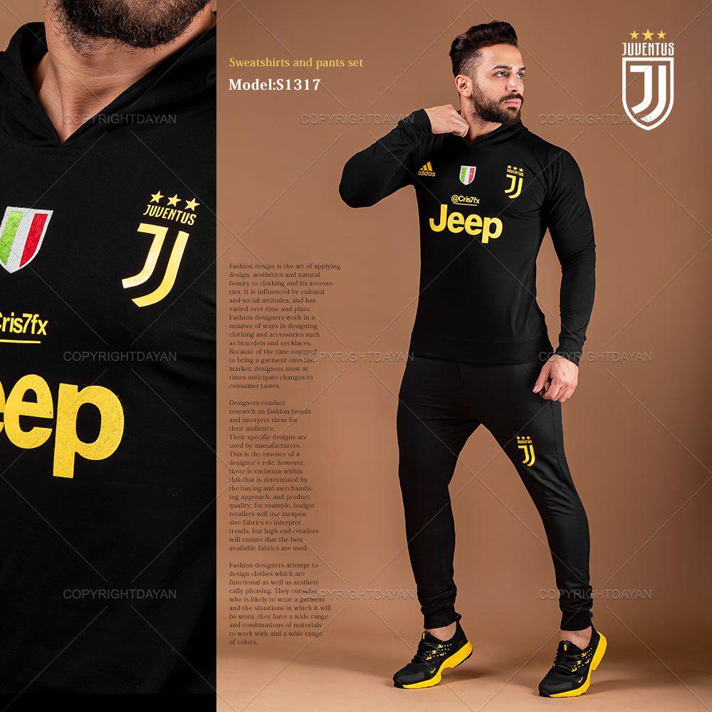 ست سویشرت و شلوار Juventus مدل S1317