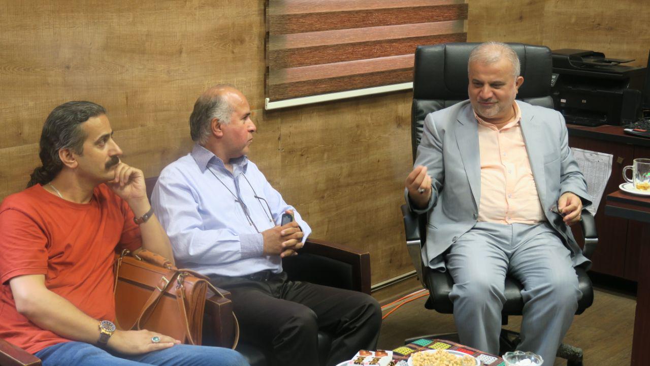 نشست هماهنگی افتتاح نخستین تماشاخانه ی روباز کشور در رشت