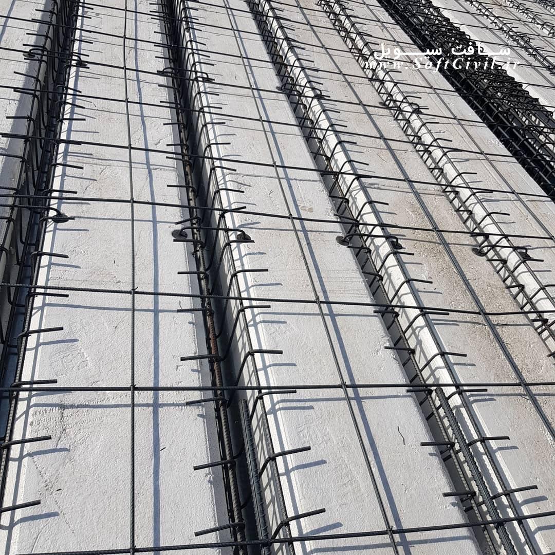 تصاویری از اجرای سقف موسوم به اسنودک