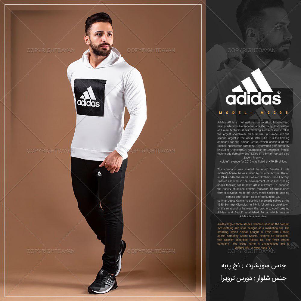 ست سویشرت و شلوار مردانه آدیداس Adidas مدل M2205