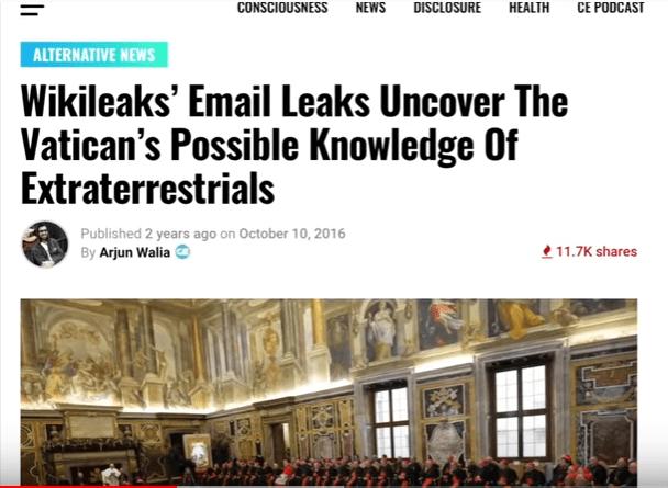 ایمیل لیک شده