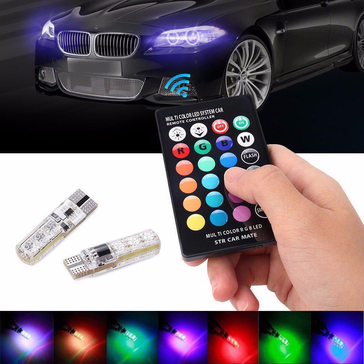 لامپ تغییر رنگ خودرو مدل مالتی کالر Multi Color