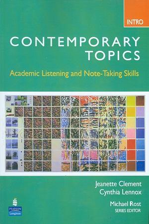 موضوعات معاصر مقدماتی Contemporary Topics