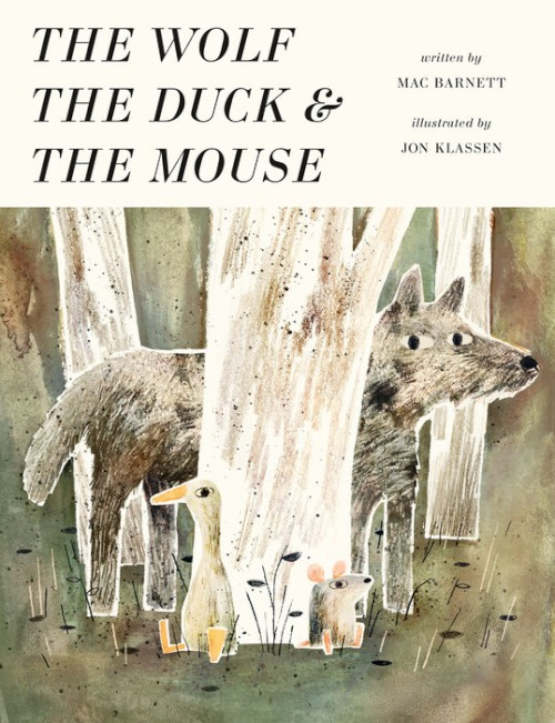 کتاب داستان کودکانه گرگ اردک و موش