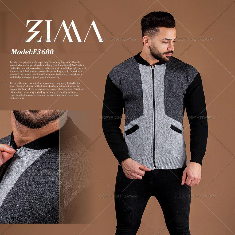 بافت مردانه Zima مدل E3680