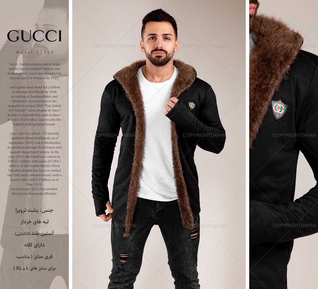 شنل خزدار مردانه Gucci مدل T7452