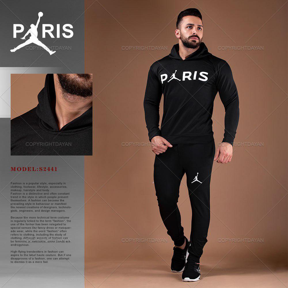 خرید ست سویشرت و شلوار مردانه Paris مدل S2441
