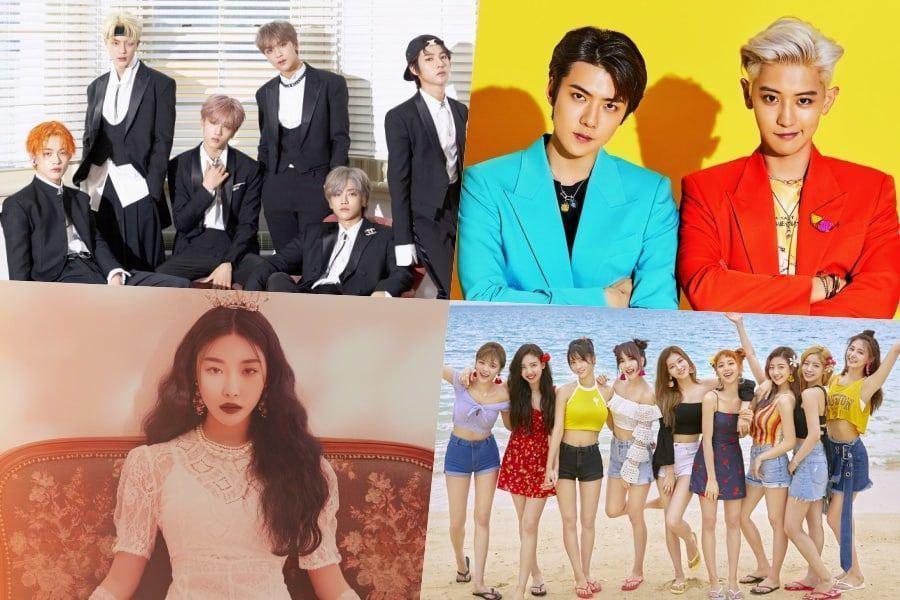 توایـس، NCT Dream، EXO-SC، Chungha و ... از گائون گواهی رسمی پلاتینیوم دریافت کردند📄