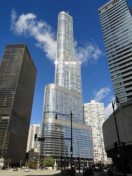 برج و هتل ترامپ در شیکاگو، ایلینوی