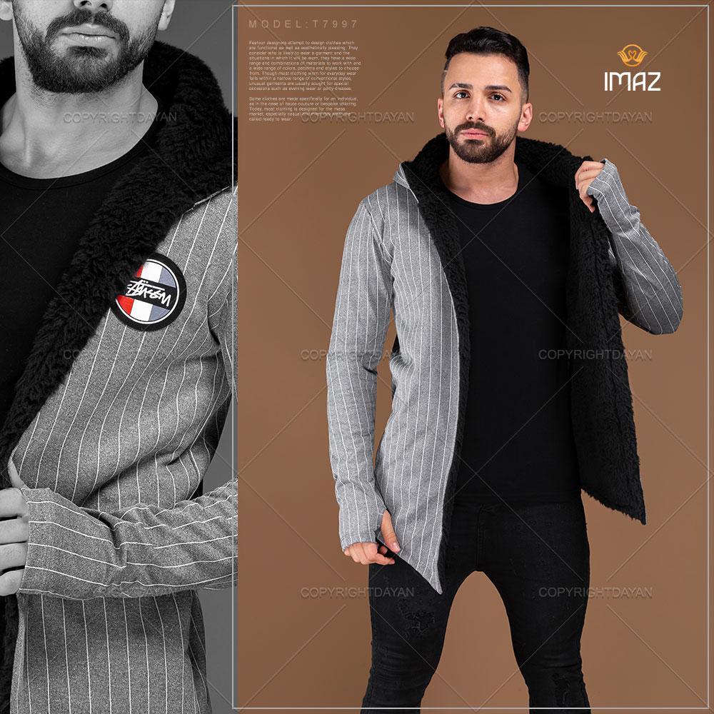 شنل خزدار مردانه ایماز Imaz مدل T7997