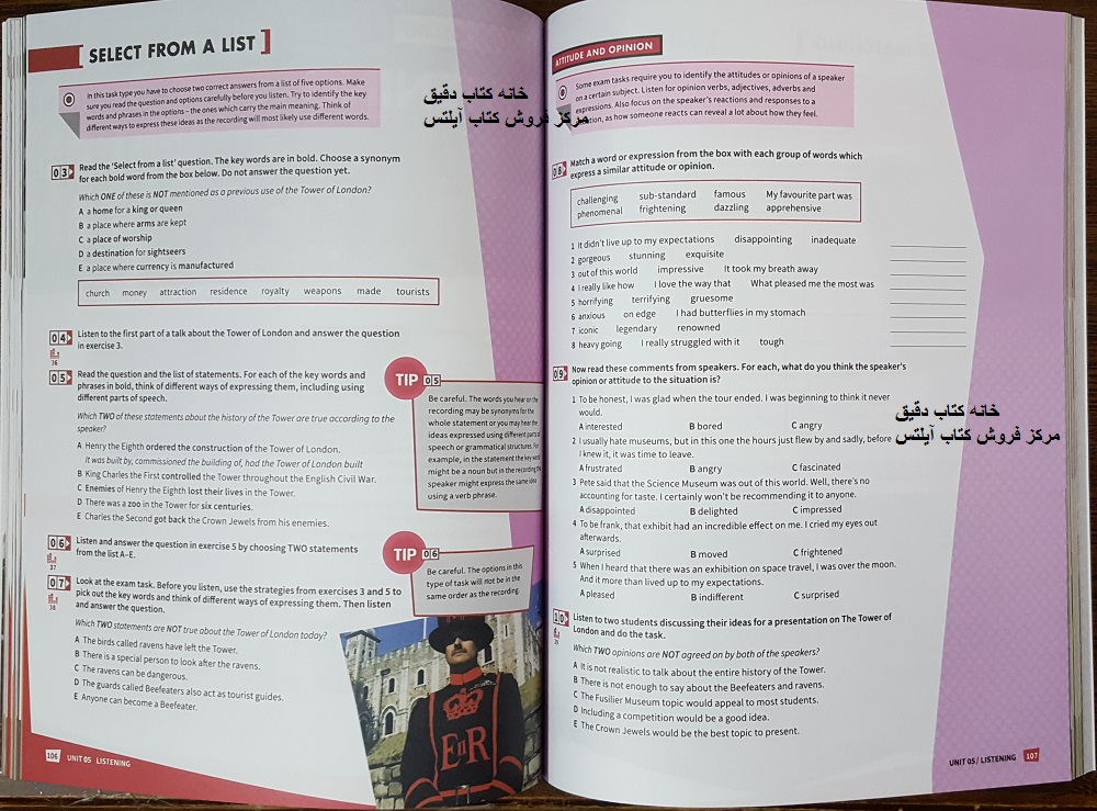 درس 5 از کتاب Mindset for IELTS 3 مایندست فور آیلتس